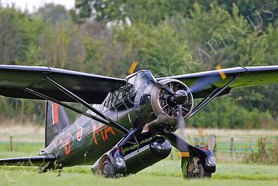 WB - Westland Lysander 00009 Westland Lysander British RAF by Tony Fairey