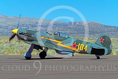 WB - YAK-9 00019 Yakovlev YAK-9 by Peter J Mancus