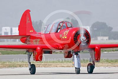 WB - Yakovlev Yak-52 00029 Yak-52 warbird by Peter J Mancus