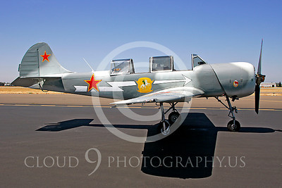 WB - Yakovkev Yak-52 00001 Yak-52 warbird by Peter J Mancus