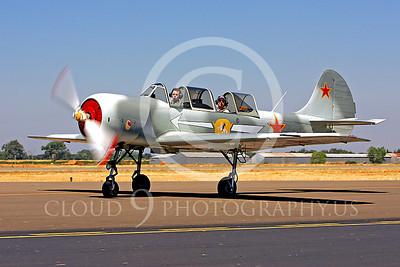 WB - Yakovkev Yak-52 00021 Yak-52 warbird by Peter J Mancus