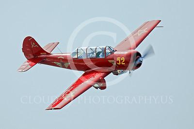 WB - Yakovlev Yak-52 00008 Yak-52 warbird by Peter J Mancus