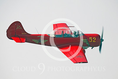 WB - Yakovlev Yak-52 00034 Yak-52 warbird by Peter J Mancus