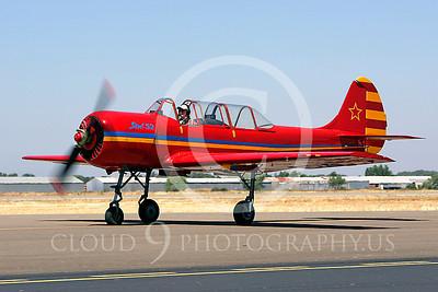 WB - Yakovlev Yak-52 00003 Yak-52 warbird by Peter J Mancus