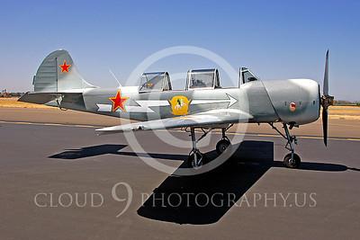WB - Yakovkev Yak-52 00019 Yak-52 warbird by Peter J Mancus