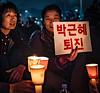 2016-11-19_Gwanghwamun_Mass_Candles_2Women-3165