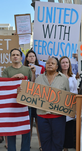 Denver/Ferguson/Police Brutality Rally-8/20/14