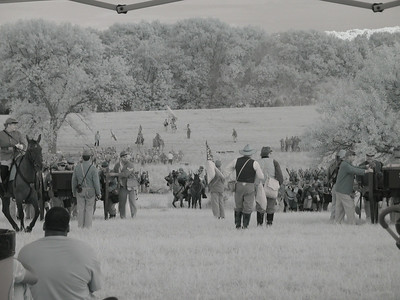 146th Anniversary of the Battle of Gettysburg Re-enactment. (Infrared)
