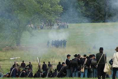 146th Anniversary of the Battle of Gettysburg Re-enactment.