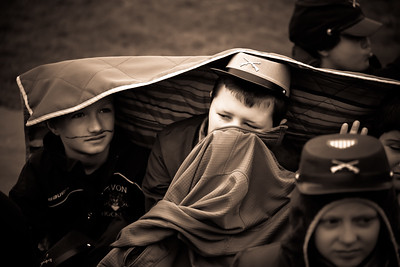 Canton Intermediate School 5th Graders Participated in the annual Civil War Encampment on Thursday, May 5, 2016.  See more at cantoncompass.com. Photos by John Fitts