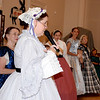 Dance Mistress Debra Hyland, of St. Louis, teaches Civil War Era dances during the 1872 Courthouse Celebration and Civil War Era Grand Ball on Saturday evening at the Effingham County Center and Museum in downtown Effingham. Charles Mills photo