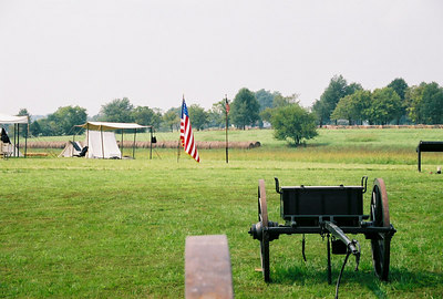 Stock image of American Civil War re-enactment at Camp Nelson, Kentucky USA.  This image was photographed by Matt Hathorn.