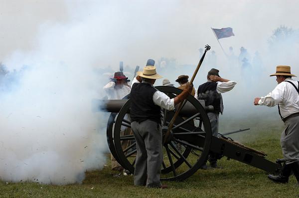 2007 Civil War Re-enactment: Battle of Richmond