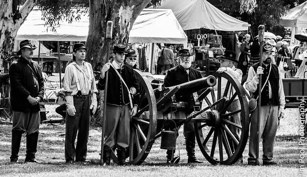 Civil War reenactment Huntington Beach 2017