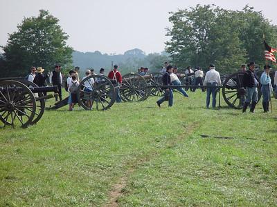 First Manassas Federal Artillary Camp