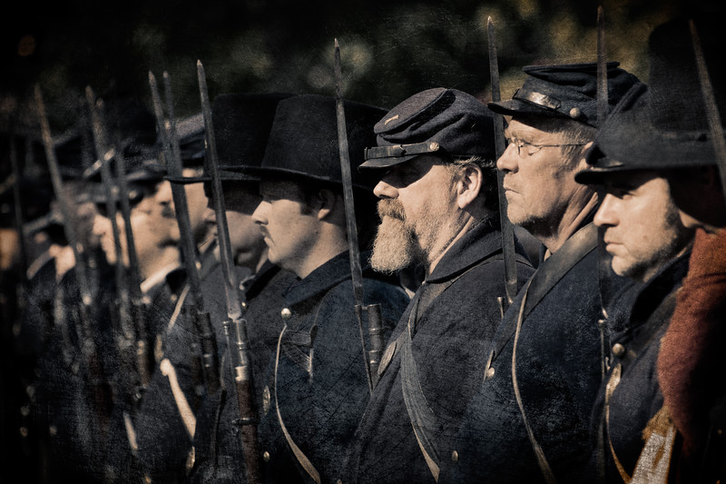 2011 Blue and the Gray Civil War Reenactment, Moorpark, CA
