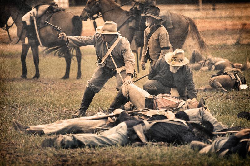 Civil War Reenactment, Woodland Hills, 2011