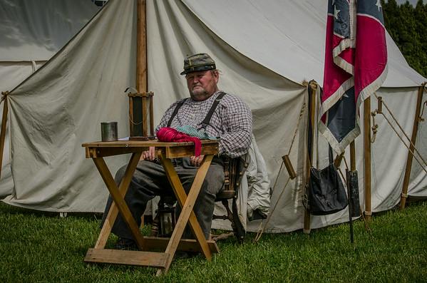 Civil War Reinactors 2013