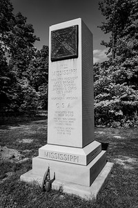 11th Mississippi Marker at Gaines Mill