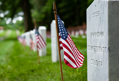 Memorial Day at Poplar Grove National Cemetery
