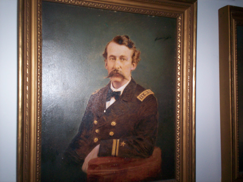 Lt. William B Newman, approximate date 1870