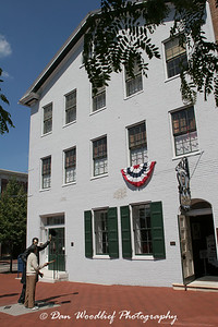 The David Wills House, where Lincoln stayed