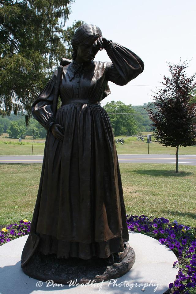 Evergreen Cemetery monument