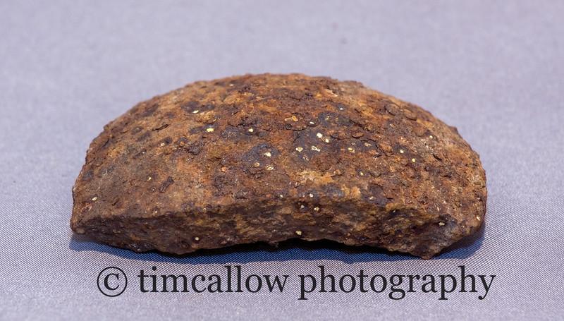 Civil War cannon ball fragment found at the 2nd Bull Run Battlefield