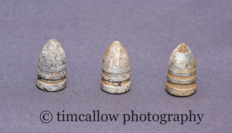 Civil War.58 cal Sharps Bullets from the U.S. 3rd Calvary camp near Frederick, Md.