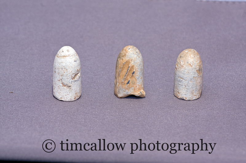 Civil War, .577 cal Enfield bullets from a Confederate camp near Sharpsburg, Md.