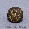 Civil War infantry uniform eagle button