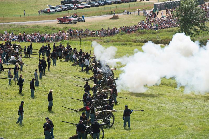 Reenactment at Gettysburg