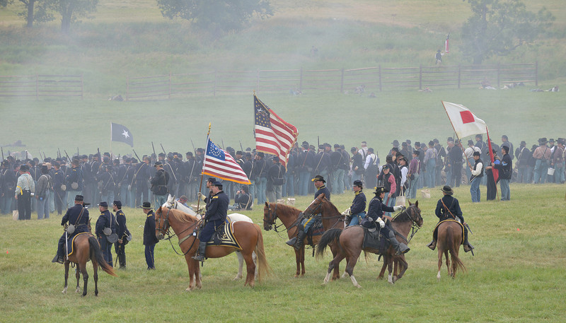 Flags and Cavalry