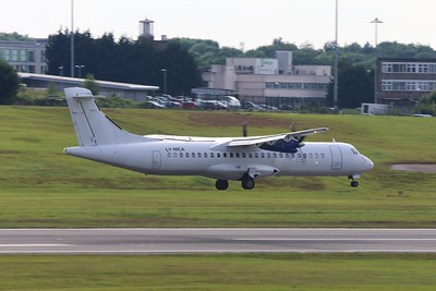 LY-MCA DOT LT ATR 72-201 cn 212 @ Birmingham Airport / EGBB 18.06.16