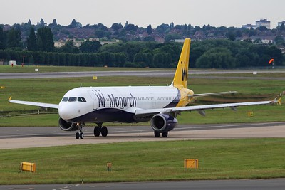 G-OZBN Monarch Airlines Airbus A321-231 cn 1153 @ Birmingham Airport / EGBB 18.06.16