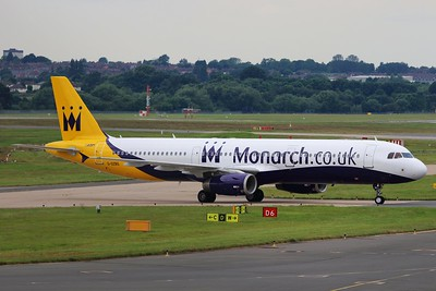 G-OZBG Monarch Airlines Airbus A321-231 cn 1941 @ Birmingham Airport / EGBB 18.06.16