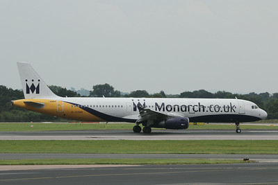 G-OZBR Monarch Airlines Airbus A321-231 c/n 1794 @ Manchester Airport / EGCC 01.08.14