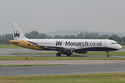 G-OZBP Monarch Airlines Airbus A321-231 c/n 1433 @ Manchester Airport / EGCC 01.08.14