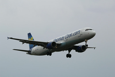 G-NIKO Thomas Cook Airlines Airbus A321-211 cn 1250 @ East Midlands Airport / EGNX 31.07.14