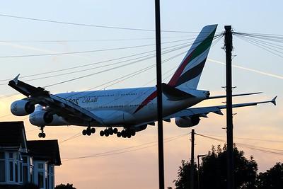 A6-EEE Emirates Airbus A380-861 cn 112 @ London Heathrow / EGLL 08.09.16