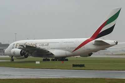 A6-EDS Emirates Airbus A380-861 cn 086 @ Manchester Airport / EGCC 01.08.14