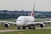 A6-EOY Emirates Airbus A380-861 cn 209 @ Birmingham Airport / EGBB 18.06.16