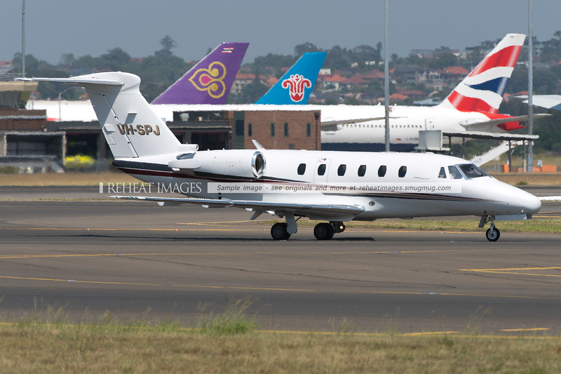 Cessna 650 Citation III VH-SPJ