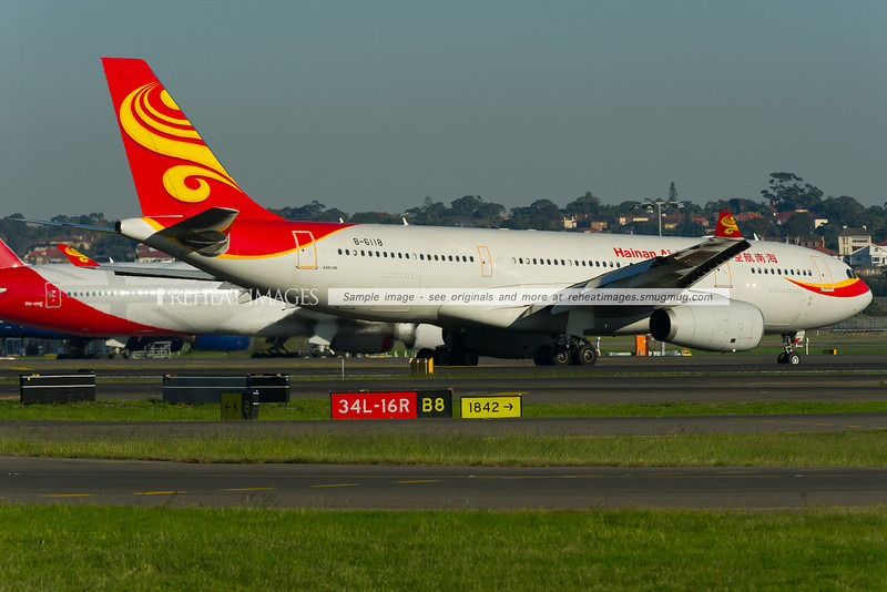 Hainan Airlines A330-243 at Sydney airport