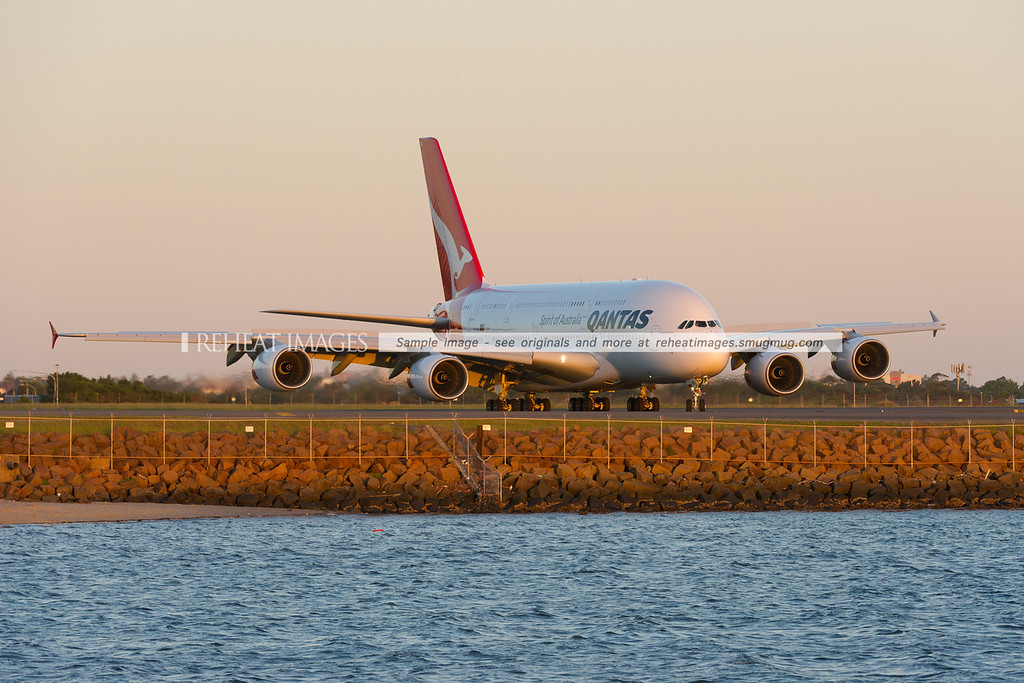 Brand new Airbus A380-842 for Qantas, VH-OQK.