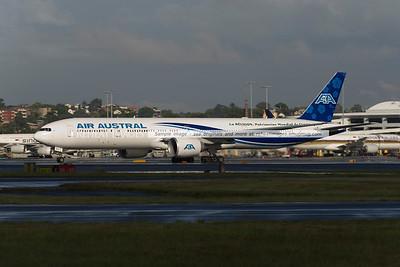 Air Austral B777-300/ER at Sydney airport.