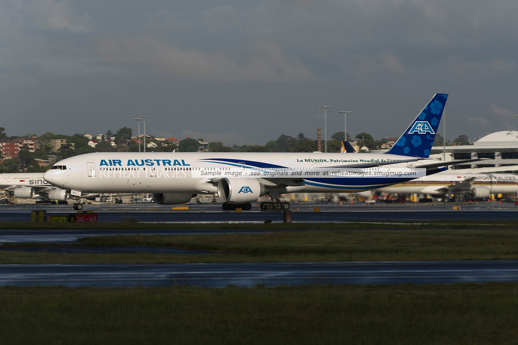 Air Austral B777-300/ER at Sydney airport.