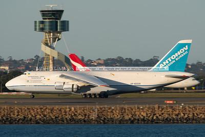 Antonov Design Bureau AN-124-100 UR-82029 in Sydney July 2013.
