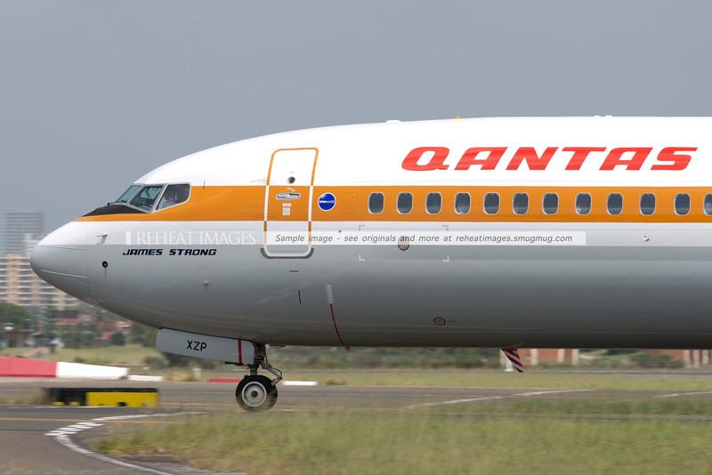 "Boeing 737-838 VH-XZP ""James Strong"""