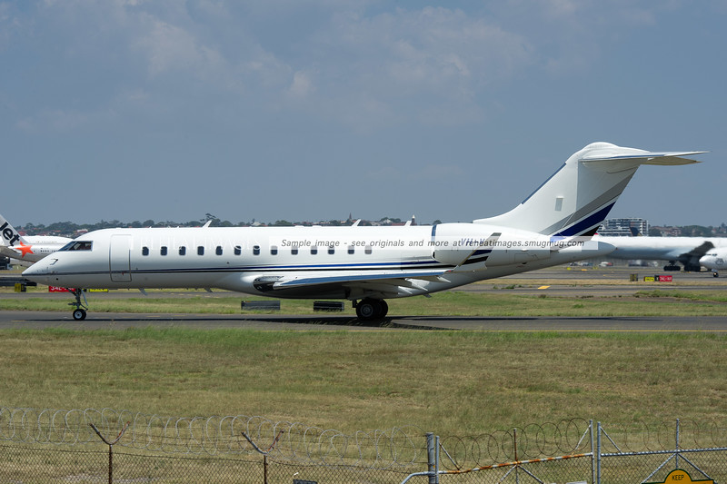 Bombardier Global Express-BD-700-1A10 VH-VGX